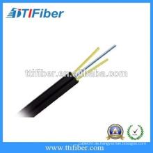 2 Kern FTTH G657a Indoor Drop Kable mit zwei FRP Stärke Mitglied