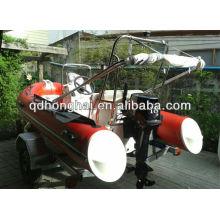 canot pneumatique semi-rigide bateau nervure HH-RIB360 avec CE