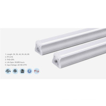 Lámpara de tubo de aluminio regulable T8 3000K 2 pies LED