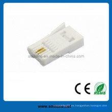 UL Aprobado Plug Modular para 6p2c