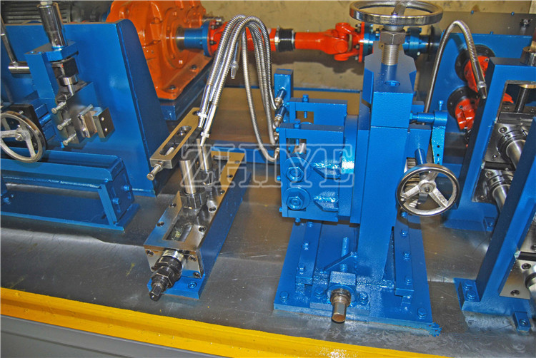 steel pipe mill machines