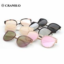 Nuevo diseño de imagen uv 400 mujeres lentes polarizadas gafas de sol.