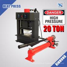 Elementos de aquecimento duplos Prensa de resina hidraulica de 20 toneladas de energia