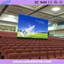 Panel de visualización a todo color interior / al aire libre de fundición a presión a troquel P4 de la pantalla LED para la publicidad mural de video (576X576)