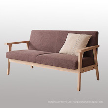 Modern Living Room Fabric Sofa with Two Seater