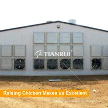 Puerto de agricultura Ventilador de granja de pollos para aves de corral