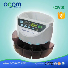 CS900 electronic coin sorter and counter