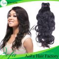 100% Необработанные Естественная Волна Девы Волос Выдвижение Человеческих Волос