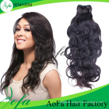 100% Unprocessed Natural Wave Virgin Hair Human Hair Extension