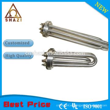Aleación PTC elementos eléctricos tubulares de calefacción