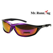 Tinted Lens Cycling Sunglasses , Comfortable Sporting Glasses For Man