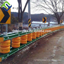 New style roller barrier system / safety rolling barrier / guardrails