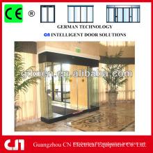Porte coulissante standard professionnel en verre