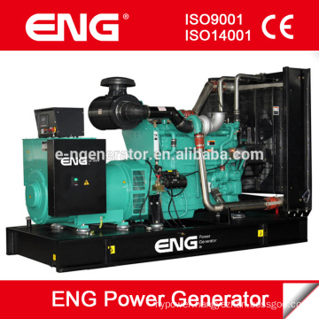 CE certificate water cooled generating set for 500kva