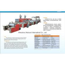Kunststoff-Extrusionsmaschine mit Laminierfunktion für PP-gewebte Säcke