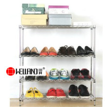Wholesale Adjustable DIY Metal Vintage Shoe Rack Accessories, NSF Approval