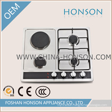Two Burners and Two Hotplate Gas Cooktop Gas Hob