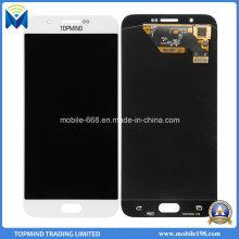 Conjunto de tela do toque da exposição do LCD do telefone móvel para a galáxia A8 de Samsung