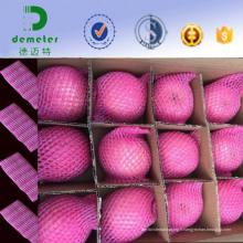 Filet protecteur de chaussettes de fruit de mousse d'emballage pour le stockage