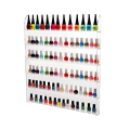 6 Layers Clear Acrylic Nail Polish Rack
