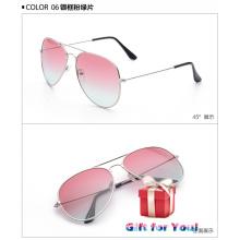 Modische Art und Weise kühle mehrfarbige Sonnenbrille Cestbella preiswerte Preis-spezielle Geschenk-Sonnenbrille