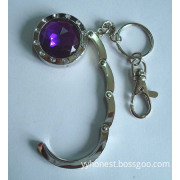 Fashion Bag Accessory Purse Hanger with Key Chain