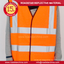 Road reflective safety vest
