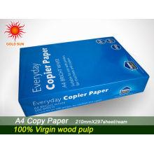 papel de cópia tamanho carta
