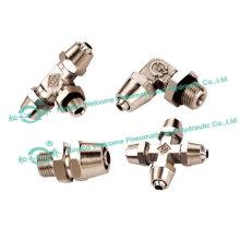 JSM Lock Nut Type Tube Fitting(Brass)