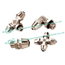 JSM Lock Nut Type Tube Fitting(Brass)