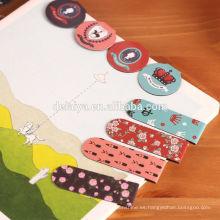 Marca impresa colorida del imán para los niños