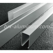 Silver Anodized Aluminum Alloy Window Door Frame