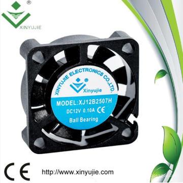 Alta Qualidade 5 V DC Mini Ventilador para o Carro 25mm Ventilador de Refrigeração