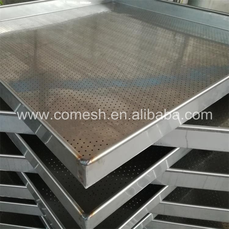 304 Stainless Steel Perforated Tray
