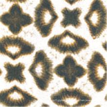 Digital Print Wolle Pfirsich Stoff für Bekleidung / Bluse / Kleid (sz-061)