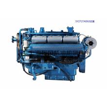 Шанхай Dongfeng дизельный двигатель/12 цилиндров. Мощность двигателя