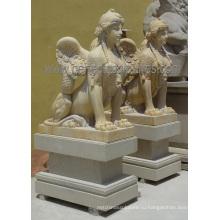 Резьба каменная мраморная скульптура статуи для украшения сада (SY-X1759)
