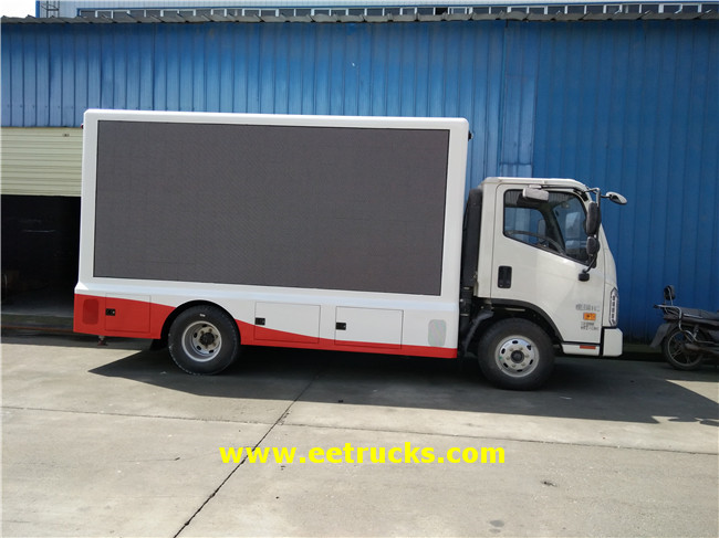 P8 LED Screen Trucks