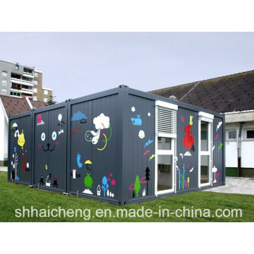 Modular Kindergarten/Modular School/Prefab School (shs-fp-education003)