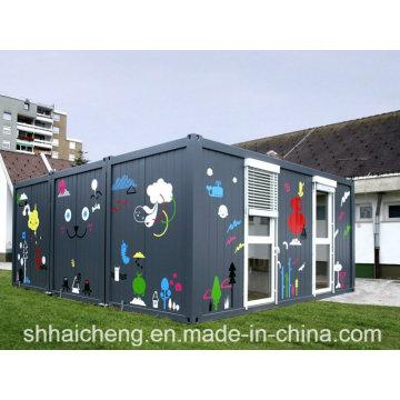 Модульный детский сад / Модульная школа / Подготовительная школа (shs-fp-education003)