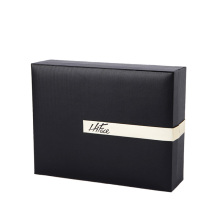 Black Clamshell Rigid Gift Box