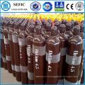 Cylindre réutilisable sans couture de gaz d'hélium d'acier 50L (EN ISO9809)