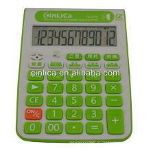 Calculadora de mesa de fala com despertador TA-373