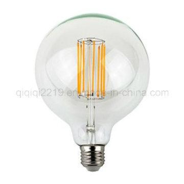 8W E27 220V G125 Limpar Dim Decoração Lamp