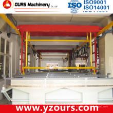 Planta de galvanização automática controlada por PLC