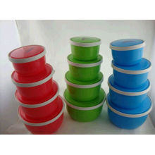 Hot Sale 4sets Cheap Plastic Food Box Wolesale with High Quality