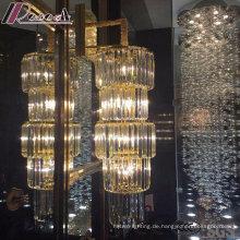 Runde Mode und moderne Kristallpendelleuchte mit Hotel