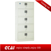 hot sale cheap morden double color wardrobe