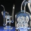 Tubulação de água de vidro inline grande para fumar com Perc (ES-GB-024)