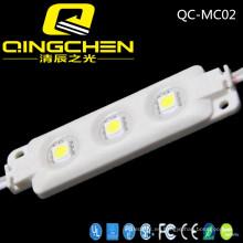 La mejor calidad 3 virutas 5050 módulo de la inyección de 0.72W LED con alto brillo e impermeable